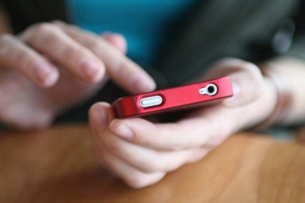 Пользование смартфоном